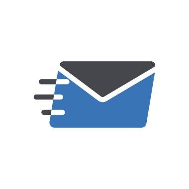 Sending message Icon for website design and desktop envelopment, development. premium pack. icon