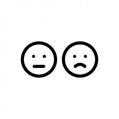 Emotion face diversity Icon for website design and desktop envelopment, development. premium pack. icon