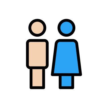 Couple Icon for website design and desktop envelopment, development. premium pack. icon