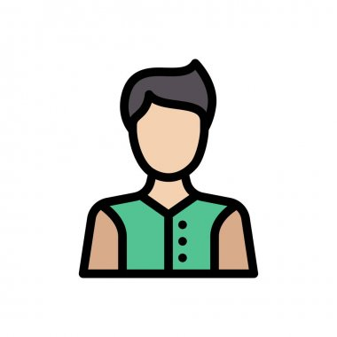 Male Icon for website design and desktop envelopment, development. premium pack. icon