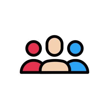 Leader diversity Icon for website design and desktop envelopment, development. premium pack. icon