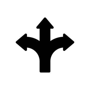 Direction diversity Icon for website design and desktop envelopment, development. premium pack. icon