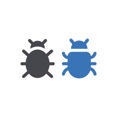 Bug diversity Icon for website design and desktop envelopment, development. premium pack. icon