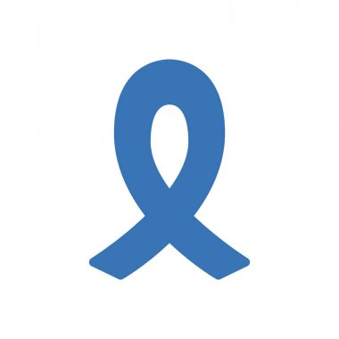 Breast cancer bow Icon for website design and desktop envelopment, development. premium pack. icon