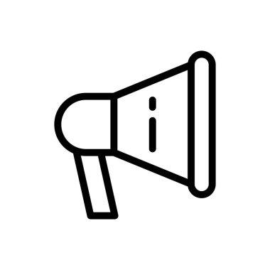 Announcement Icon for website design and desktop envelopment, development. premium pack. icon
