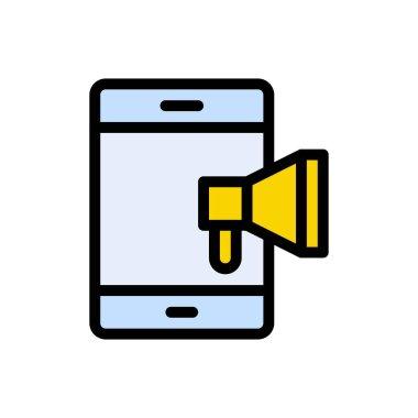 Ad phone Icon for website design and desktop envelopment, development. premium pack. icon