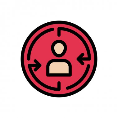 Focus customer Icon for website design and desktop envelopment, development. premium pack. icon