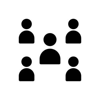 Group team Icon for website design and desktop envelopment, development. premium pack. icon