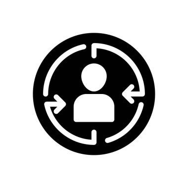 Focus customer Icon for website design and desktop envelopment, development. premium pack. icon