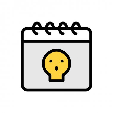 Date Icon for website design and desktop envelopment, development. premium pack. icon