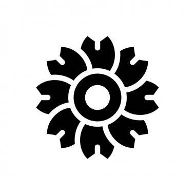 Flower Icon for website design and desktop envelopment, development. premium pack. icon