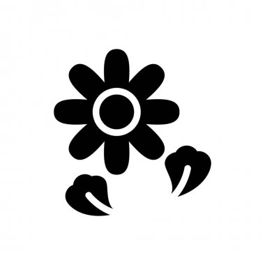 Flower Icon for website design and desktop envelopment, development. premium pack. icon