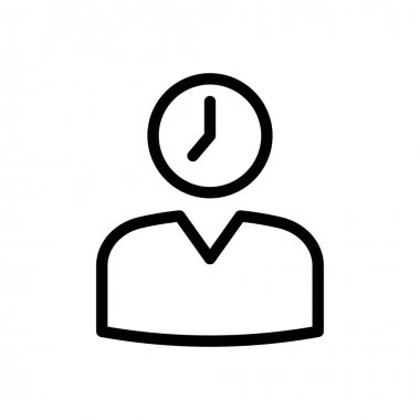 Time Icon for website design and desktop envelopment, development. premium pack. icon