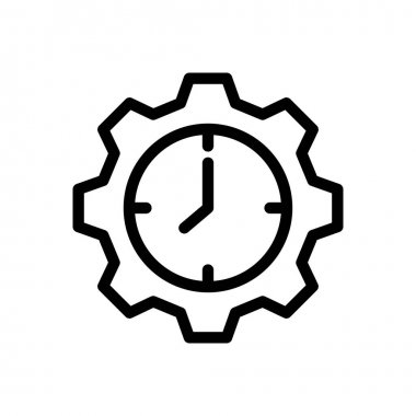 Clock Icon for website design and desktop envelopment, development. premium pack. icon