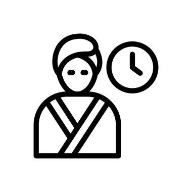 Time Icon for website design and desktop envelopment, development. premium pack. icon