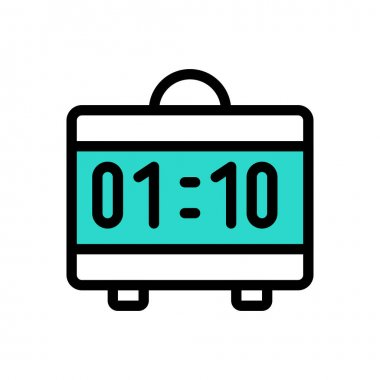 Clock Icon for website design and desktop envelopment, development. premium pack. icon