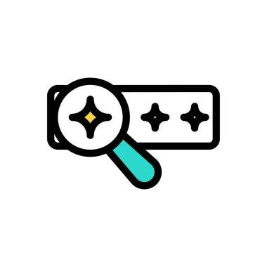 Search  Icon for website design and desktop envelopment, development. premium pack. icon