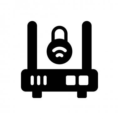 Router  Icon for website design and desktop envelopment, development. premium pack. icon