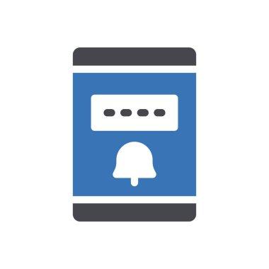 Alert  Icon for website design and desktop envelopment, development. premium pack. icon