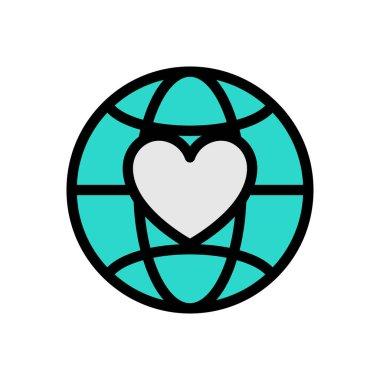 Donation Icon for website design and desktop envelopment, development. premium pack. icon