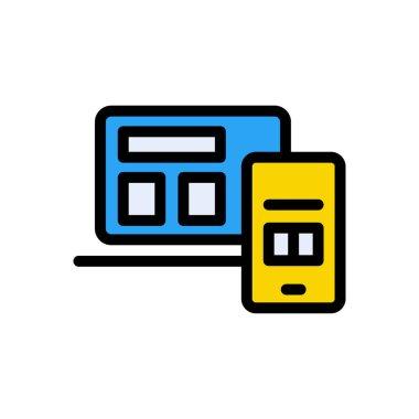 Design Icon for website design and desktop envelopment, development. premium pack. icon