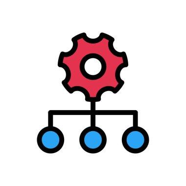 Hierarchy  Icon for website design and desktop envelopment, development. premium pack. icon