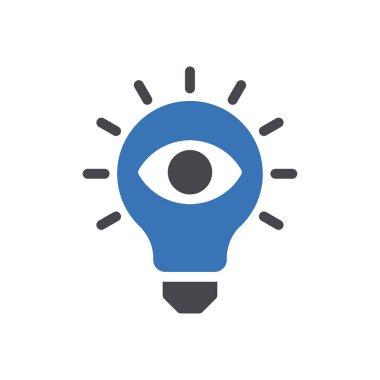 Idea Icon for website design and desktop envelopment, development. premium pack. icon