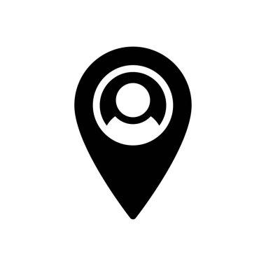 Map  Icon for website design and desktop envelopment, development. premium pack. icon