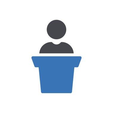 Speech Icon for website design and desktop envelopment, development. premium pack. icon
