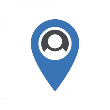 Map  Icon for website design and desktop envelopment, development. premium pack. icon