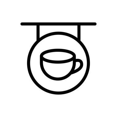 Cafe Icon for website design and desktop envelopment, development. premium pack. icon
