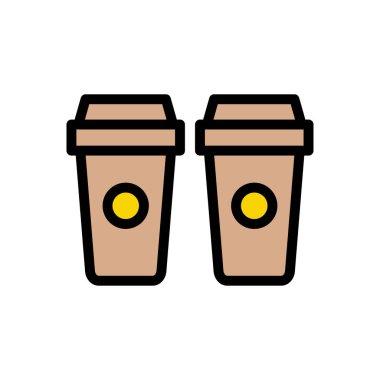 Coffee Icon for website design and desktop envelopment, development. premium pack. icon