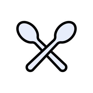 Spoon Icon for website design and desktop envelopment, development. premium pack. icon