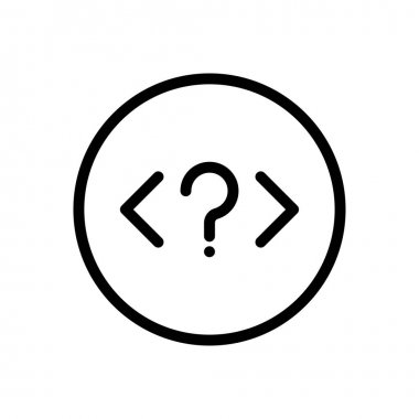 Coding Icon for website design and desktop envelopment, development. premium pack. icon