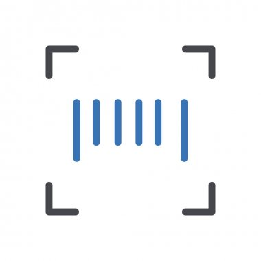 Scan  Icon for website design and desktop envelopment, development. premium pack. icon