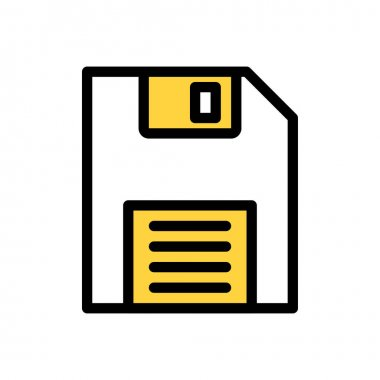 Floppy  Icon for website design and desktop envelopment, development. premium pack. icon