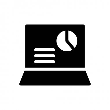 Laptop Icon for website design and desktop envelopment, development. premium pack. icon