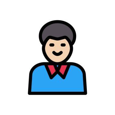 Teacher  Icon for website design and desktop envelopment, development. premium pack. icon