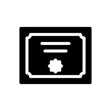 Cetification  Icon for website design and desktop envelopment, development. premium pack. icon