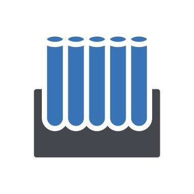 Test tube Icon for website design and desktop envelopment, development. premium pack. icon