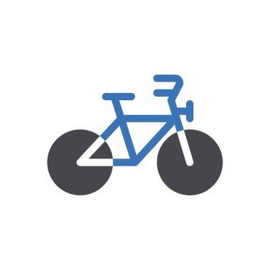 Bicycle Icon for website design and desktop envelopment, development. premium pack. icon