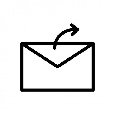 Message forward Icon for website design and desktop envelopment, development. premium pack. icon