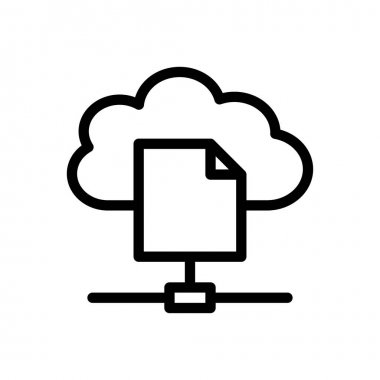 File sharing Icon for website design and desktop envelopment, development. premium pack. icon