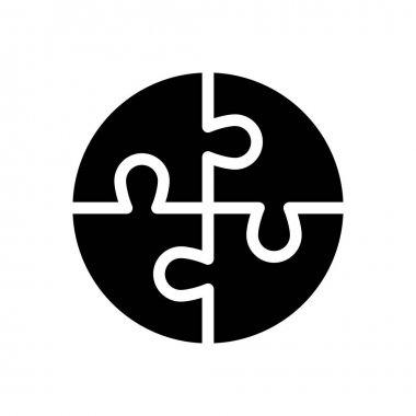 Puzzle Icon for website design and desktop envelopment, development. premium pack. icon