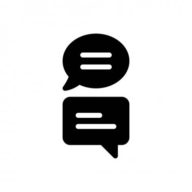 Chat Icon for website design and desktop envelopment, development. premium pack. icon
