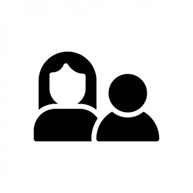 Couple Icon for website design and desktop envelopment, development. premium pack. icon