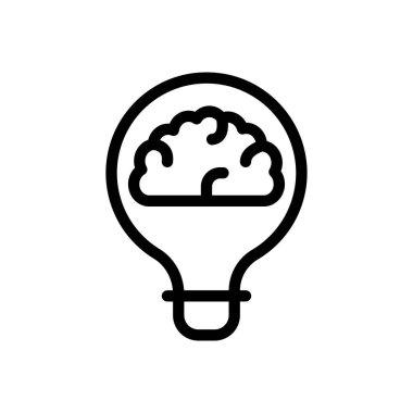 Creative idea Icon for website design and desktop envelopment, development. premium pack. icon