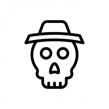 Skull Icon for website design and desktop envelopment, development. premium pack. icon