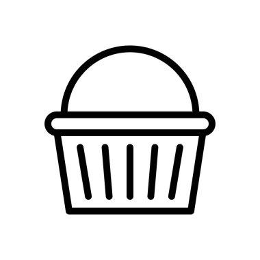 Basket Icon for website design and desktop envelopment, development. premium pack. icon