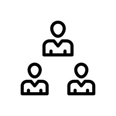 Group Icon for website design and desktop envelopment, development. premium pack. icon